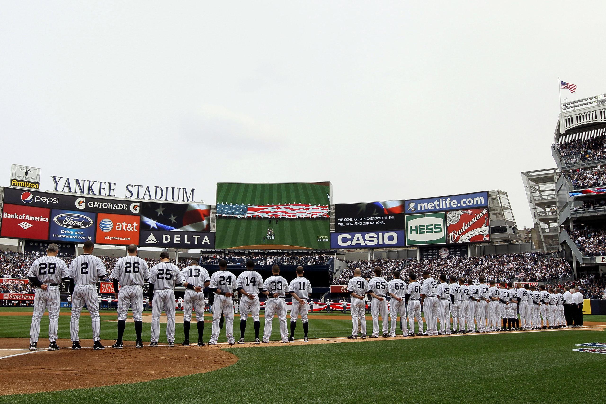 2010 New York Yankees' Statistics